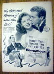 1947 Honeymoon With Shirley Temple