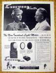 1946 Norwood Director Light Meter With Lana Turner