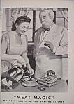 Vintage Ad: 1943 B. V. W/ George Rector