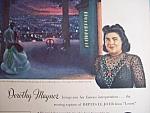 Vintage Ad: 1945 Rca Victor Records W/ Dorothy Maynor