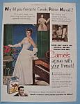 Vintage Ad: 1952 Camel Cigarettes W/ Patrice Munsel