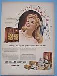 Vintage Ad: 1946 G. E. Radio W/frances Langford
