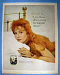 Vintage Ad: 1960 Springmaid Fabric W/connie Russell