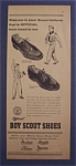 1961 Official Boy Scout Shoes