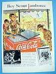 1937 Coca-cola With A Boy Scout Jamboree