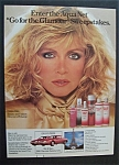 1987 Aqua Net Products With Donna Mills