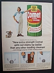 1965 Comet Cleanser With Josephine