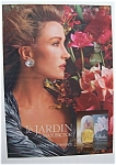 1989 Le Jardin With Jane Seymour