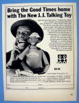 1975 James Evans Talking Toy/doll W/jimmie Walker