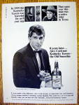 1967 Kentucky Tavern Whiskey W/ Alex Cord (Stagecoach)