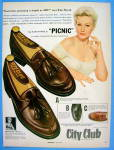 1955 City Club Shoes With Kim Novak