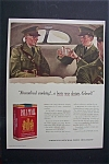 1941 Pall Mall Cigarettes W/ 2 Soldiers By John Falter