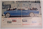 1955 Chrysler Imperial With A Group Of Sailors