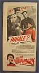 Vintage Ad: 1941 Philip Morris Cigarettes W/ Bellboy