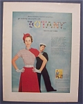 1954 Botany Yarn With Woman With A Sailor