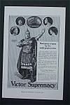 Vintage Ad: 1917 Victor Supremacy