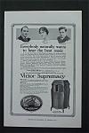 Vintage Ad: 1917 Victor Spremacy