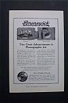 Vintage Ad: 1920 Brunswick Records