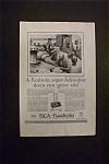 Vintage Ad: 1926 Rca Radiola