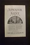 Vintage Ad: 1925 Atwater Kent Radio