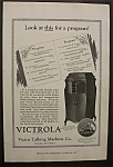Vintage Ad: 1920 Victor Talking Machine Company