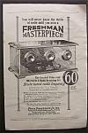 1925 Freshman Masterpiece Radio Receiver