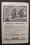 Vintage Ad: 1925 American Transformer Co.