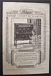 Vintage Ad: 1925 Adapto Radio Cabinet