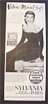 Vintage Ad: 1951 Sylvania Tubes With Patrice Munsel