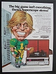 Vintage Ad: 1974 Superscope Stereo