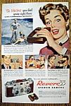Vintage Ad: 1953 Revere 33 Stereo Camera