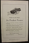 1920 Kodak Pocket Premo Camera