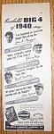 Vintage Ad: 1941 Louisville Slugger Bats W/j. Di Maggio