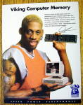 1997 Viking Computer With Basketball's Dennis Rodman