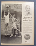 Vintage Ad: 1965 Wilson Basketball With Jerry West