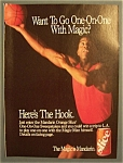 Vintage Ad: 1990 Orange Slice With Magic Johnson