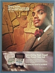 Vintage Ad:1995 Right Guard Deodorant W/charles Barkley