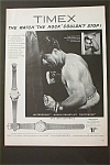 1953 Timex Watches With Rocky Marciano