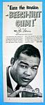 1953 Beech Nut Gum Ad With Boxer Joe Louis