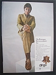 1970 Dingo Boots With Football's Great Joe Namath