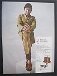 1970 Dingo Boots With Football's Great Joe Namath