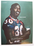 Vintage Ad: 2000 Got Milk? With Terrell Davis
