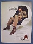 1971 Dingo Boots With Joe Namath
