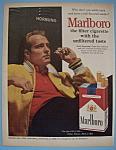 1962 Marlboro Cigarettes With Paul Hornung