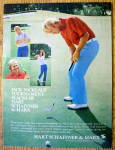 1974 Jack Nicklaus Tournament Slacks W/ Jack Nicklaus