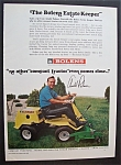1967 Bolens Estate Keeper Mower With Arnold Palmer