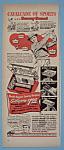 Vintage Ad: 1950 Gillette Razor W/sammy Snead