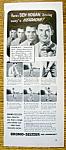 Vintage Ad: 1940 Bromo-seltzer With Ben Hogan