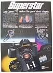 1985 Canon T70 Camera With Wayne Gretzky