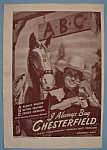 1946 Chesterfield Cigarettes With Cowboy By A Horse